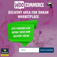 WooCommerce Delivery Area For Dokan Marketplace