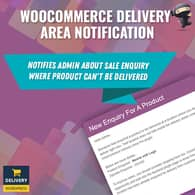 WooCommerce Delivery Area Notification
